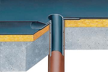 Аксесоари и окомплектовки за плоски и скатни покриви и за тераси